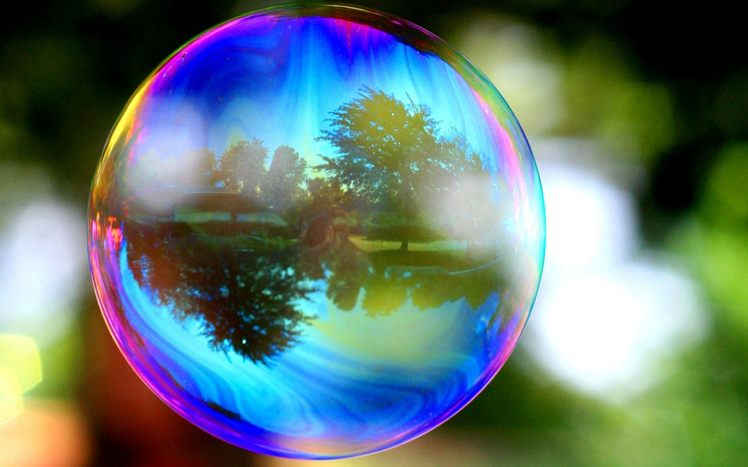 Avoid being caught in the bubble